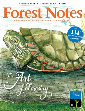 Society for the Protection of NH's Forests - Forest Notes Magazine - The Art of Forestry featuring Ingeborg V. Seaboyer